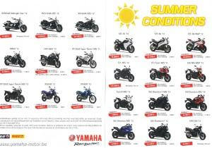 summer actions yamaha tot eind 08 2013