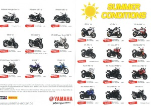 summer actions yamaha tot eind 08 2013