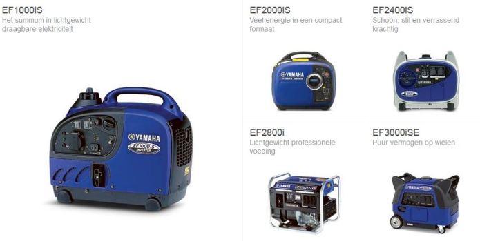 generatoren Yamaha