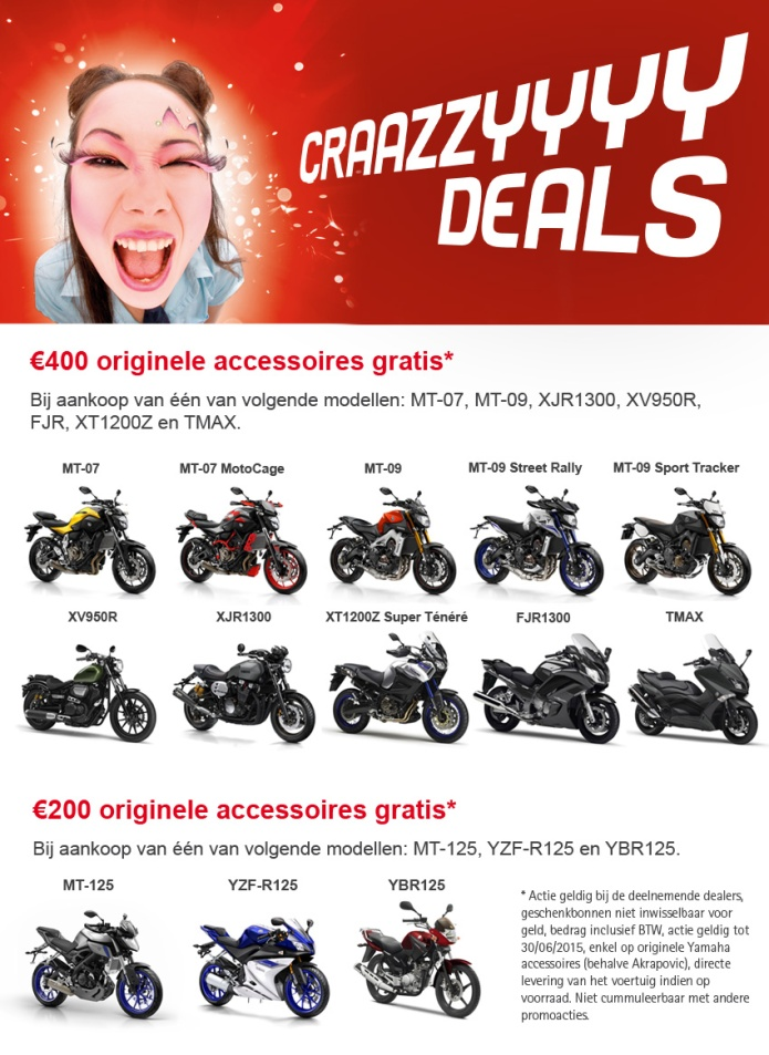 CRAZY DEALS YAMAHA